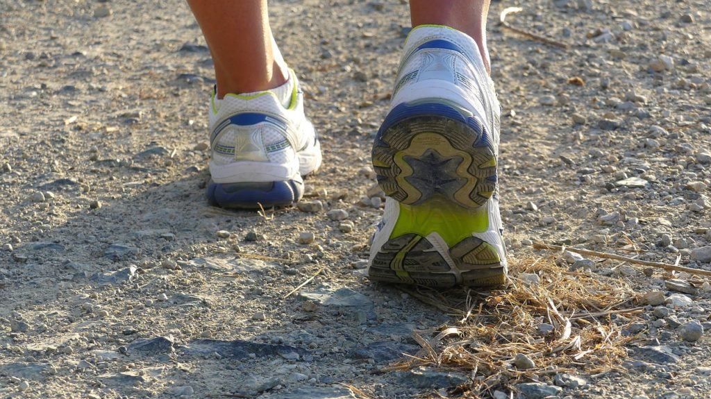 jogging and running as physical activities